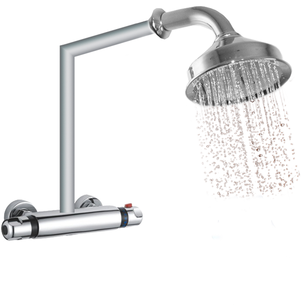 Shower Head Water at 40°C