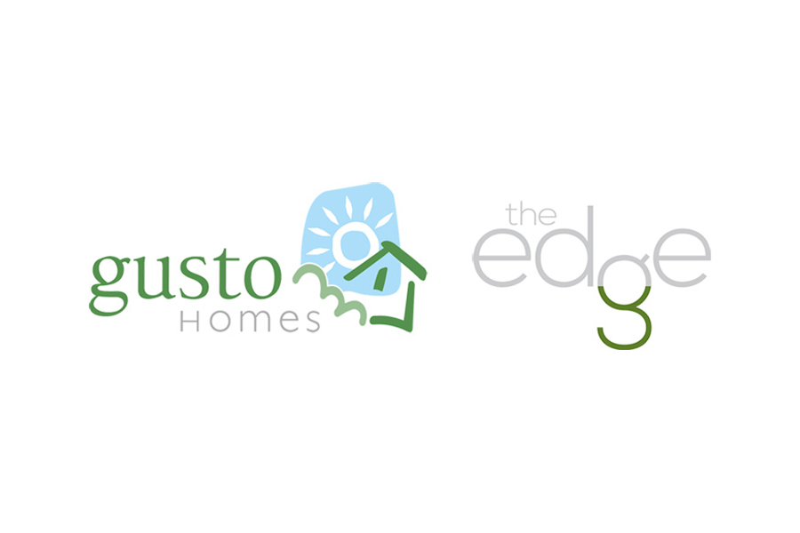 Gusto Homes, The Edge Logo