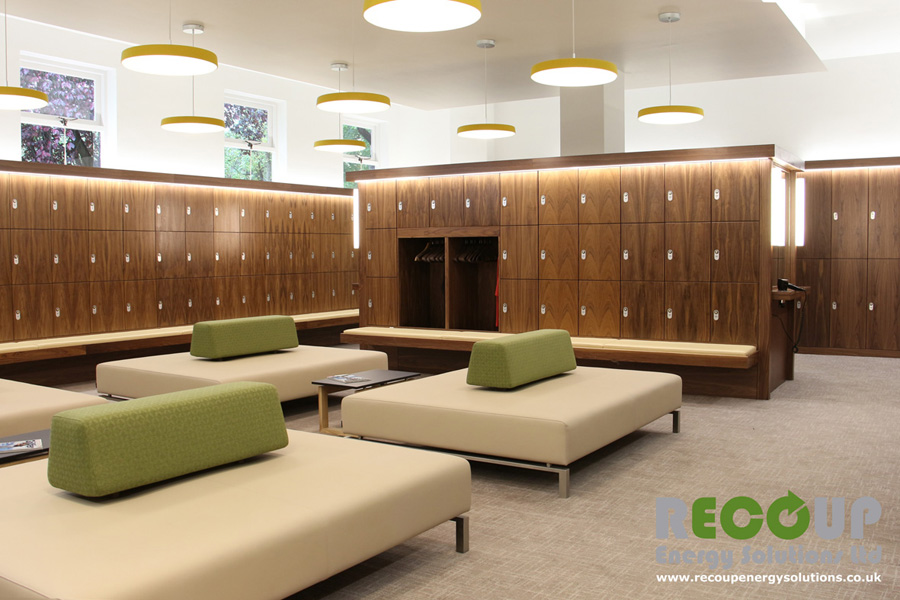 Highgate Golf Club Male locker room