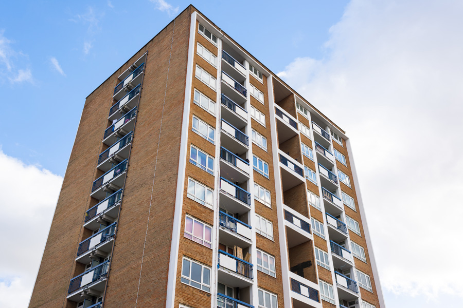 Housing Associations, Landlords & Home Owners making their houses more energy efficient - Block of flats