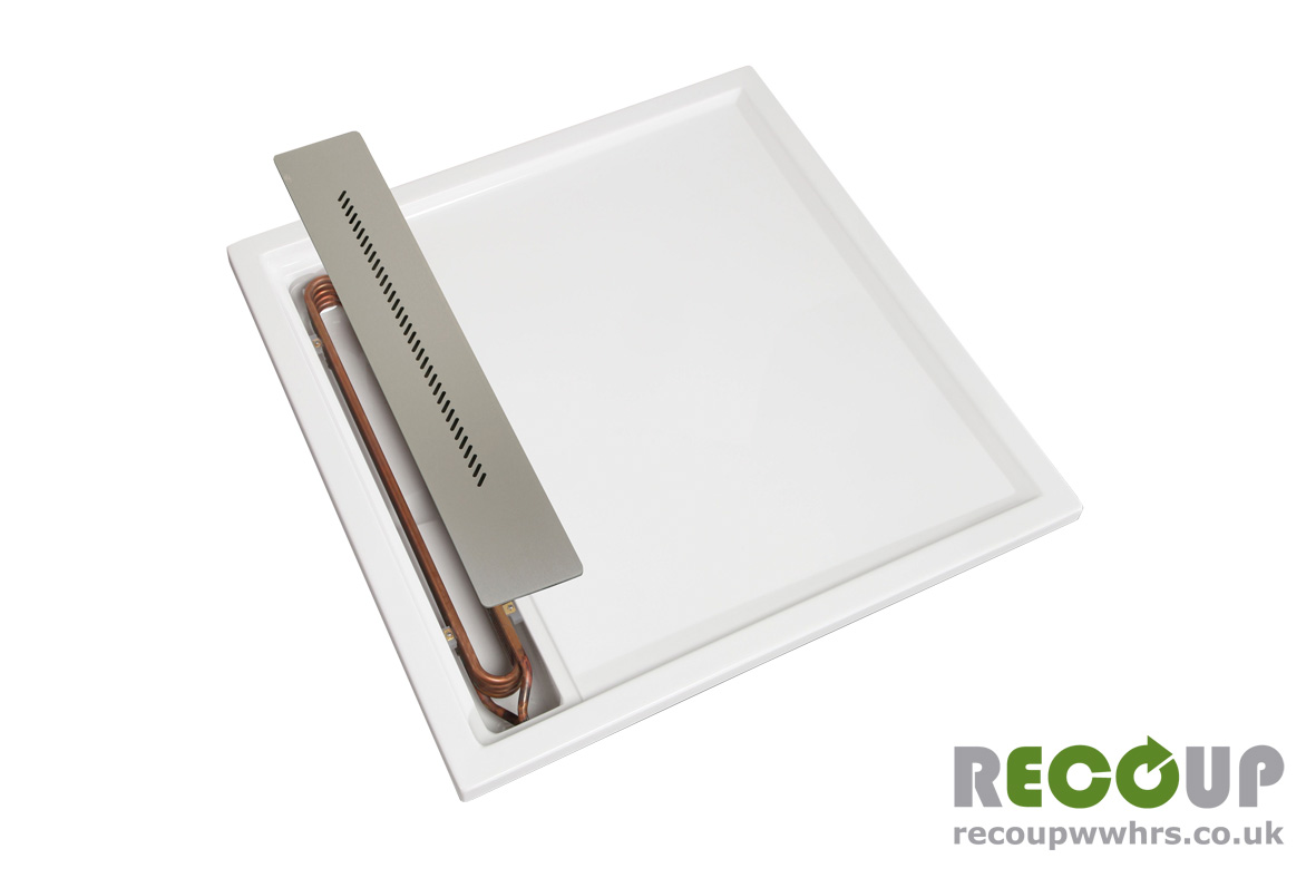 Recoup WWHRS Tray+ unit cover partially removed
