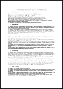 Recoup Energy Solutions Ltd - Terms & Conditions of Sale 2016