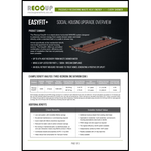 Recoup Easyfit+ Product Overview