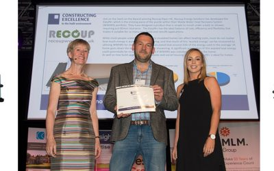 """""""1st Place Award for Innovation goes to Recoup Easyfit+"""""""