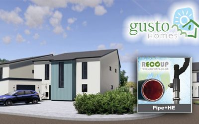 Recoup Pipe+ HE chosen again for Gusto Homes' second phase