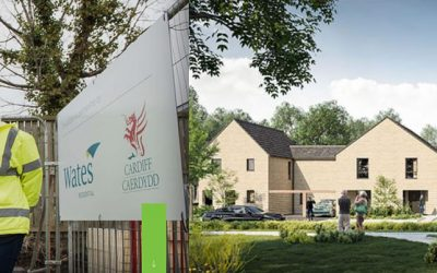 Energy efficient new homes for Cardiff include Recoup WWHRS