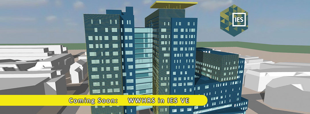 WWHRS in IES VE: Update planned for March 2019