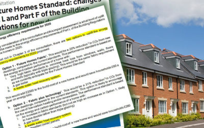 Future Homes Standard: Part-L 2020 Consultation Document Published.