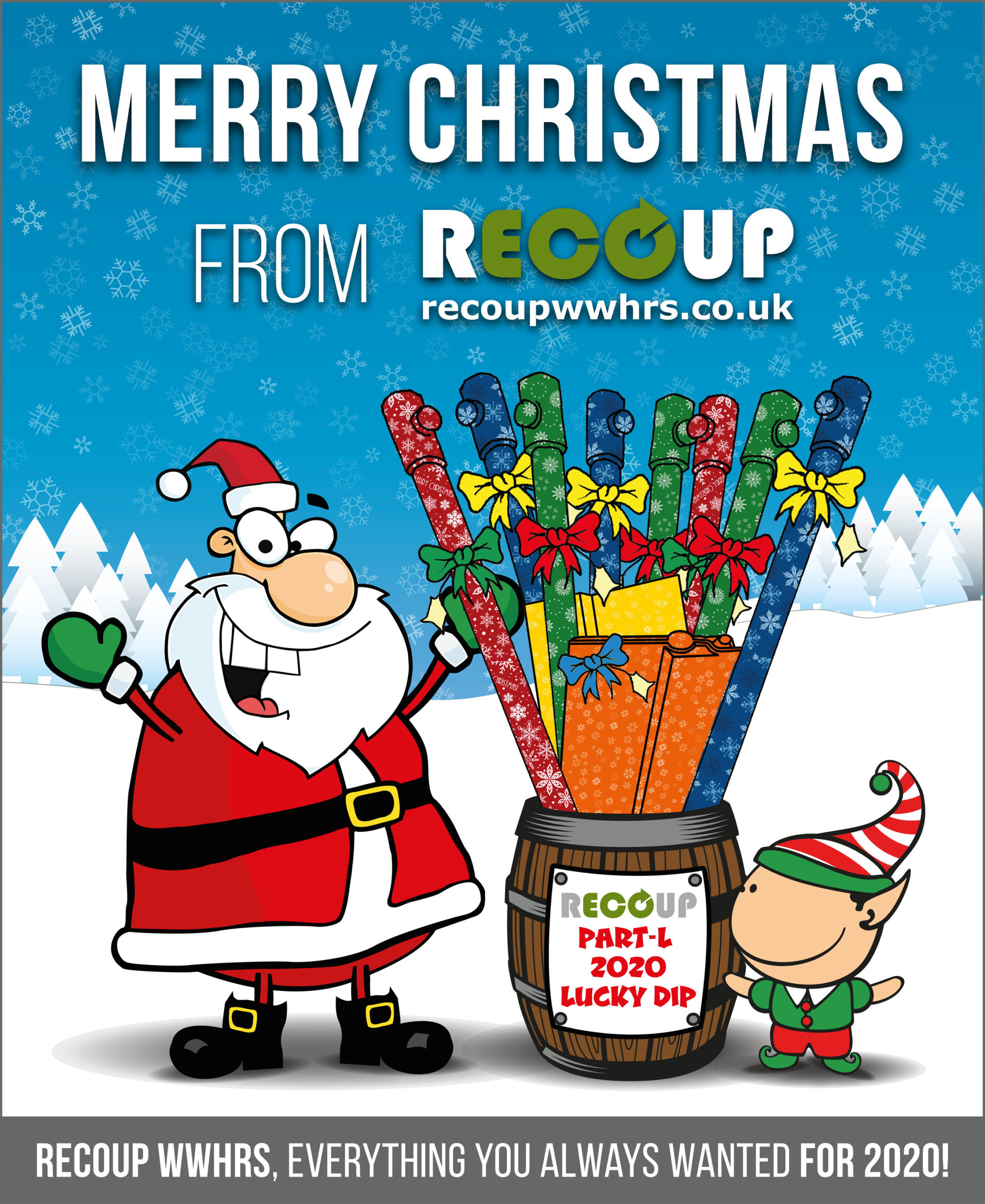 Merry Christmas and Happy New Year from Recoup WWHRS