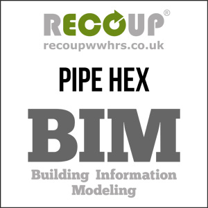 Recoup Pipe HEX BIM Model